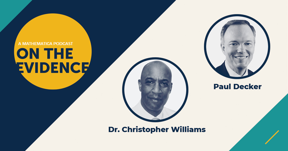 Lifelong friends Chris Williams, an ophthalmologist and founder of OnPacePlus, and Paul Decker, Mathematica's president and chief executive officer, discuss George Floyd, Black Lives Matter, and their personal experiences with racism.
