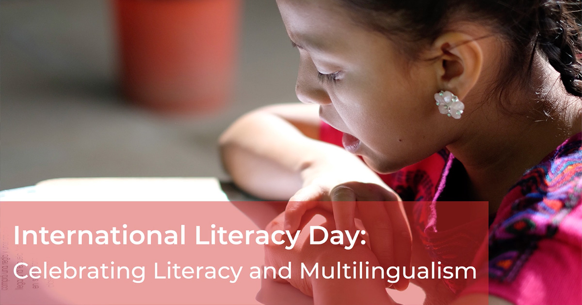 International Literacy Day 2019: Celebrating Literacy and Multilingualism