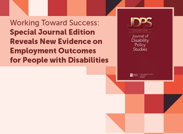 Journal of Disability Policy Studies special issue cover